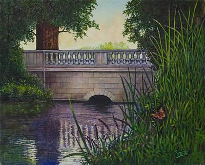 Bridges Of Forest Park II Art Print