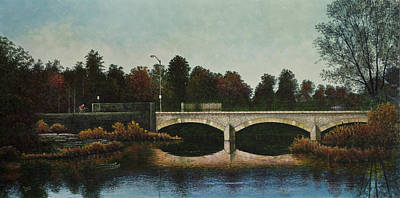 Painting - Bridges Of Forest Park Iv by Michael Frank