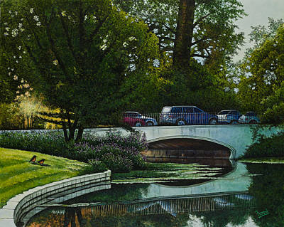 Painting - Bridges Of Forest Park V by Michael Frank