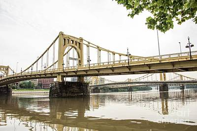 Photograph - Bridges Of Pittsburgh by David Bearden