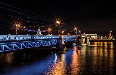 Photograph - Bridges Of Sankt Petersburg by Jaroslaw Blaminsky