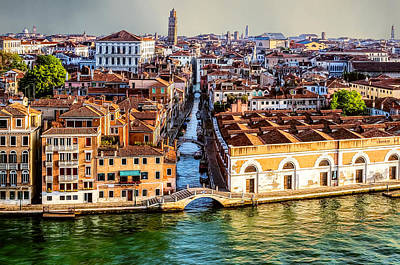 Photograph - Bridges Of Venice by Maria Coulson