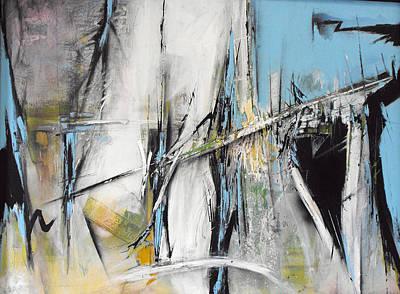 Painting - Bridges by Ralph Levesque