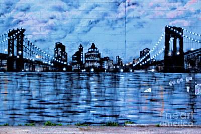 Bridges To New York Art Print