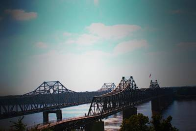 Photograph - Bridges Vicksburg Mississippi by Karen Wagner