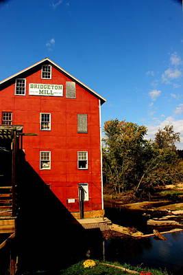 Bridgeton Indiana Mill By Earl's Photography Art Print by Earl  Eells a