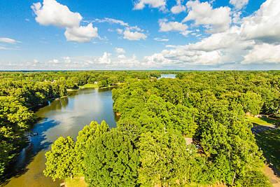 Photograph - Bridgetown - Aerial 2 by Barry Jones