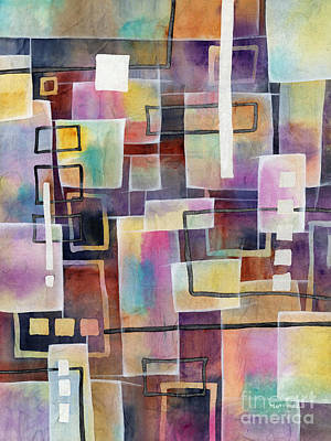 Abstract Stripe Patterns - Bridging Gaps by Hailey E Herrera