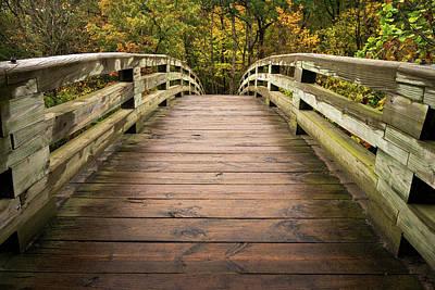 Photograph - Bridging Seasons by Josh Eral