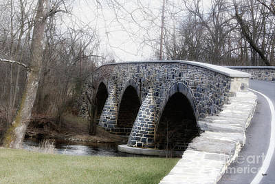 Bridging The Country  Art Print by Steven Digman