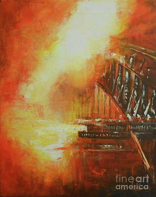 Painting - Bridging The Gap by Jane See