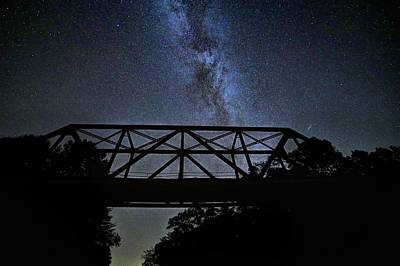 Photograph - Bridging The Milky Way by JC Findley