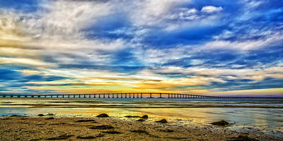 Outerbanks Photograph - Bridging The Outer Banks by Jay Wickens