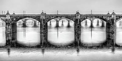 Photograph - Bridging The Susquehanna  by JC Findley