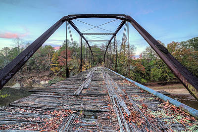 Photograph - Bridging Uphapee by JC Findley