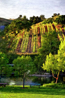 Winery Digital Art - Bridlewood by Patricia Stalter