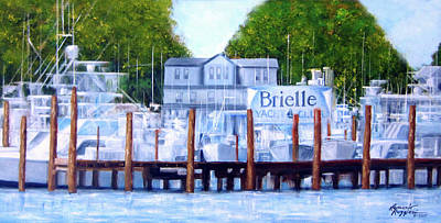 Painting - Brielle, Nj by Leonardo Ruggieri