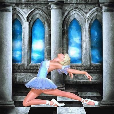 Dance Recital Digital Art - Brielle by Patricia Beil