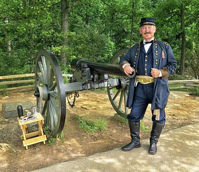 Photograph - Brigadier At Gettysburg by Dave Mills