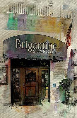 Mixed Media - Brigantine Coronado California Usa by Bob Pardue