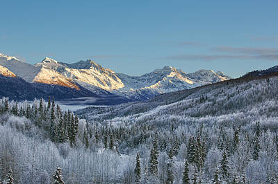Alaska Mountains Photograph - Briggs by Ed Boudreau