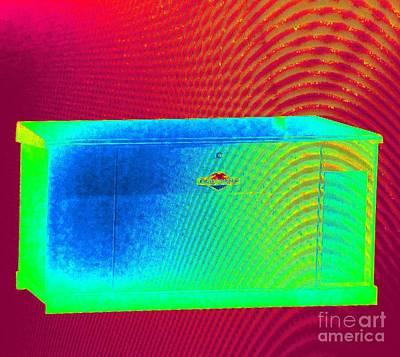 Photograph - Heat Map Briggs And  Stratton Twenty Five Thousand Watt Automatic Liquid Cooled Standby Generator  by Richard W Linford