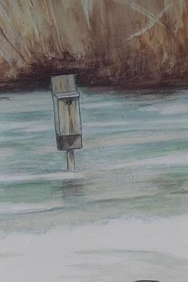 Brigham Pond Duck Box Art Print by Debra Sandstrom