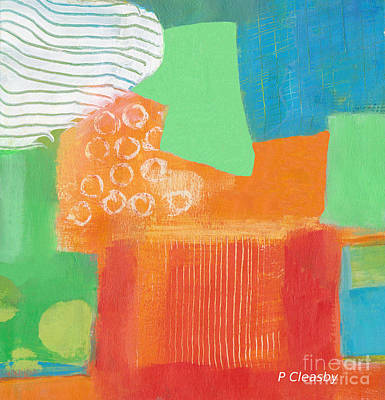Painting - Bright Abstract Painting by Patricia Cleasby