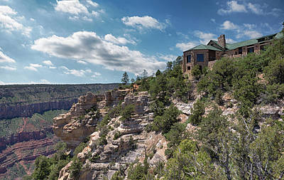 Photograph - Bright Angel Point Lodge by Susan Rissi Tregoning