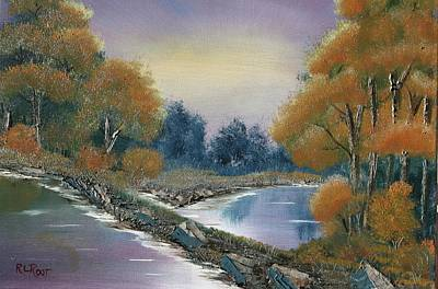 Painting - Bright Autumntrees by Ralph Root