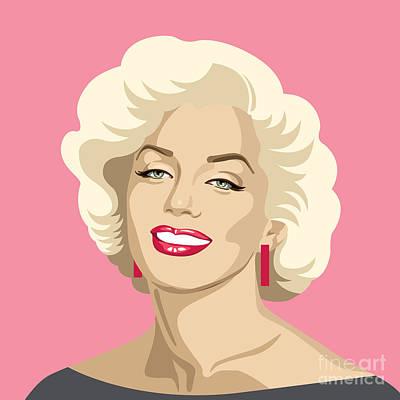 Blondie Digital Art - Bright Blondie by Olga Zelenkova