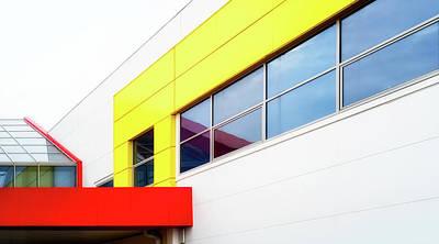 Photograph - Bright Building Blocks by John Williams