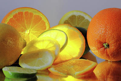 Photograph - Bright Citrus by Angela Murdock
