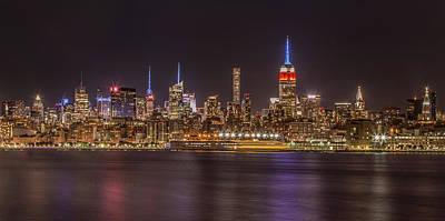 Photograph - Bright City Lights by Elvira Pinkhas