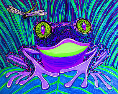 Bright Eyes 3 Art Print by Nick Gustafson