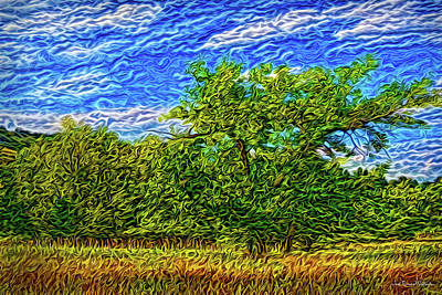 Digital Art - Bright Field Day by Joel Bruce Wallach