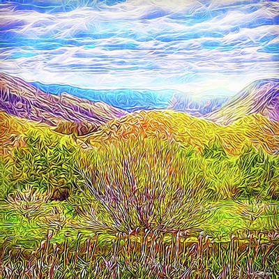 Digital Art - Bright Field Morning by Joel Bruce Wallach