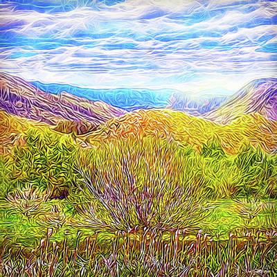 Digital Art - Bright Field Morning by Joel Bruce Wallach