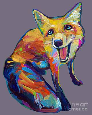 Painting - Bright Fox by Robert Phelps