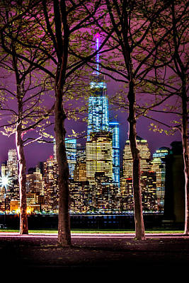 Manhattan Skyline Photograph - Bright Future by Az Jackson