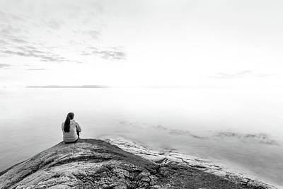 Pondering Photograph - bright Future by Mohsen Khosravi