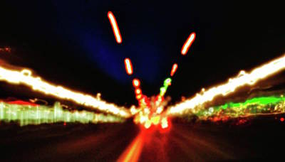 Photograph - Bright Lights by Al Harden