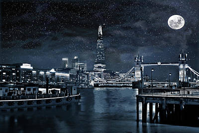 Digital Art - Bright Lights And City Lights by Andrew David Photography