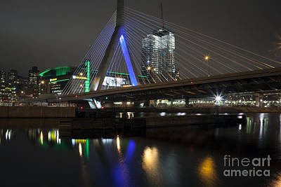 Photograph - Bright Lights, Big City, Big Bridge by Kimberly Nyce