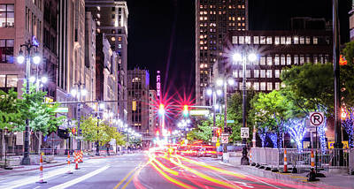 Photograph - Bright Lights Big City by J Gates Photography