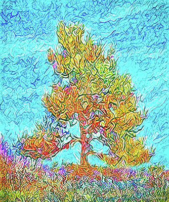 Digital Art - Bright Pine Afternoon - Colorado by Joel Bruce Wallach