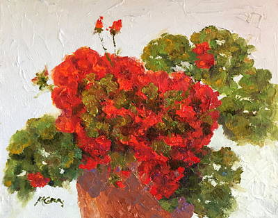 Painting - Bright Red by Marie Green