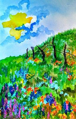 Painting - Bright Spring by Esther Woods