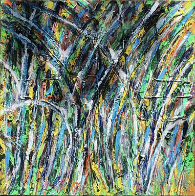 Wall Art - Painting - Bright Summer Day by Pam Roth O'Mara