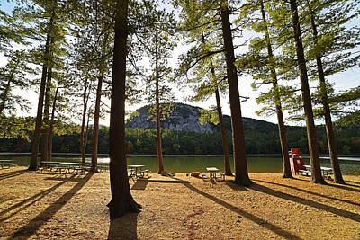 Photograph - Bright Sunny Echo Lake Conway Nh by Toby McGuire